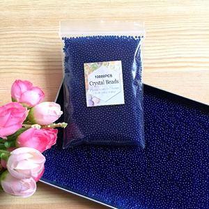 JJ Confezione 10000 pezzi colori misti differenti Perline Di Acqua Gel Perle di Acqua Cristallo Gel Terreno Gelatina Perline Vaso per Decorazione Matrimonio Natale Giardino Cucina Soggiorno Azzurro