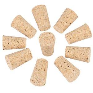 Tappi di Sughero Naturale 10 Pezzi Tappi Per Vino Tappi In Legno Per Bottiglie di Vino Tappi In Sughero Per Bricolage Lavoretti 20  15  35Mm
