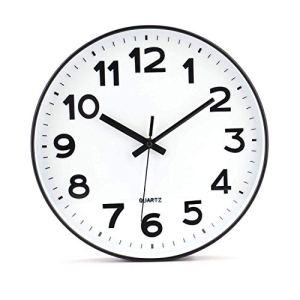 Tebery  Orologio da parete moderno non ticchetta fai da te per soggiorno cucina ufficio 305 cm bianco