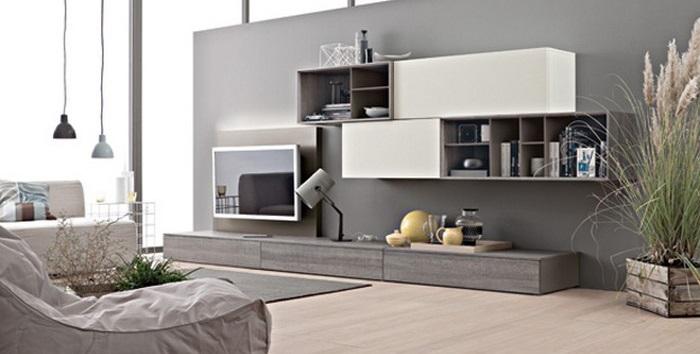 Allestire una casa moderna non si traduce per forza di. Scegliere La Parete Attrezzata In Stile Moderno Idee E Consigli