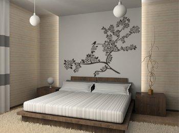 La scelta della colore le pareti per la camera da letto deve sempre puntare sulla luce naturale. Pareti Camera Da Letto Moderna Quadri Stampe Adesivi In Vinile Pareti Attrezzate Total White O Tinta Brillante