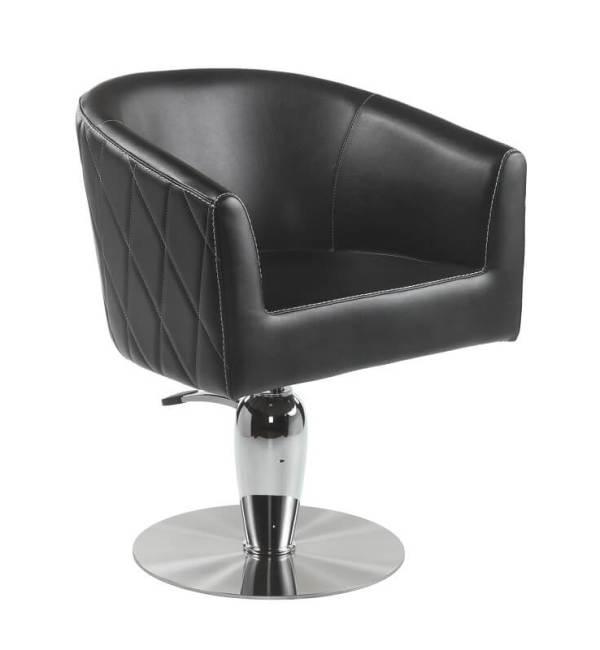 Poltrona economica per parrucchieri VALENTINA con pompa idraulica