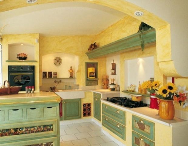 Abbinare colori pareti a cucina rustica arte povera from www.pittorifamosi.it. Pareti Cucina Provenzali Materiali Colori E Decorazioni