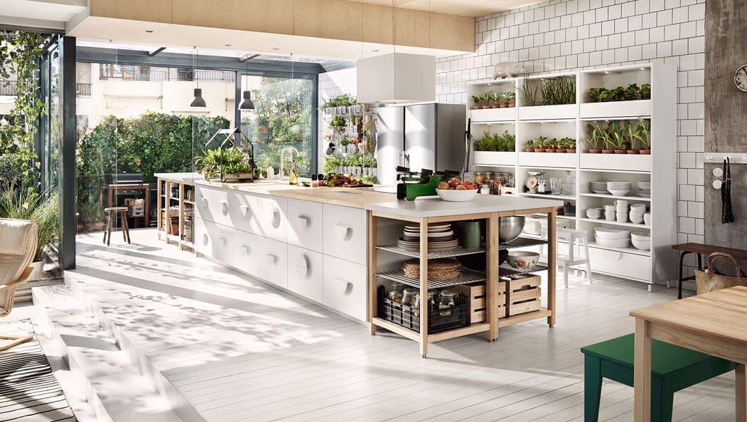 Vendo a 650 cucina bianca shabby chic ikea nuovo (un regalo,. 7 Consigli Per Arredare La Cucina In Stile Country Chic Da Ikea Catalogo 2018 Arredamento Provenzale
