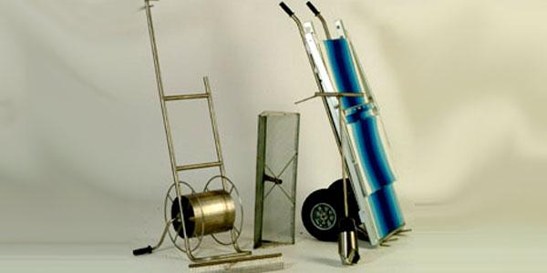 Semplici ma maneggevoli da trasportare, i carrelli trolley sono costruiti con. Carrelli Avvolgitubo Per Spiaggia