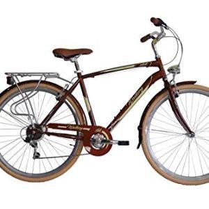 IBK Bici Bicicletta City Bike da Citt Uomo Misura 28 700x38 Modello Walking Accessori Alluminio Marrone