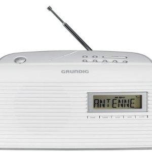Grundig GRN1400 Music61 Radio FM RDS Bianco