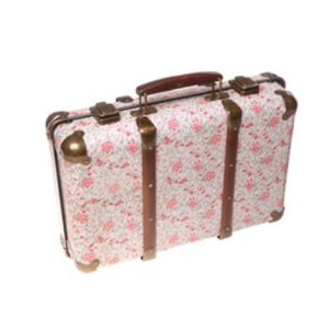 Valigia Sass and Belle Vintage Floreale con Rose