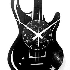 Instant Karma Clocks Orologio da Parete Disco in Vinile LP 33 Giri Guitar Basso Rock Metal Punk Chitarra Musica Vintage Handmade