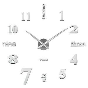 Orologio da Parete FaiDaTe Facile da Montare Design Moderno Usato per Decorare La Parete Vuota Come casa Ufficio Hotel