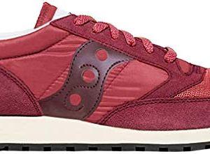Saucony Jazz Original Vintage Sneaker Unisex  Adulto Rosso Rosso  Vintage 405 EU
