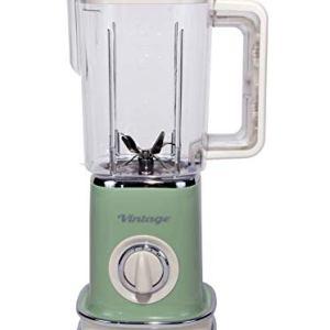 Ariete 568 Frullatore Vintage  Frullatore con 500 watt e tazza graduata da 15 litri 2 velocit  pulse in colore Verde pastello