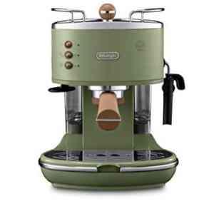 DeLonghi Icona Vintage ECOV311GR Macchina da Caff Espresso Manuale e Cappuccino Caff in Polvere o in Cialde ESE 1100 W Verde