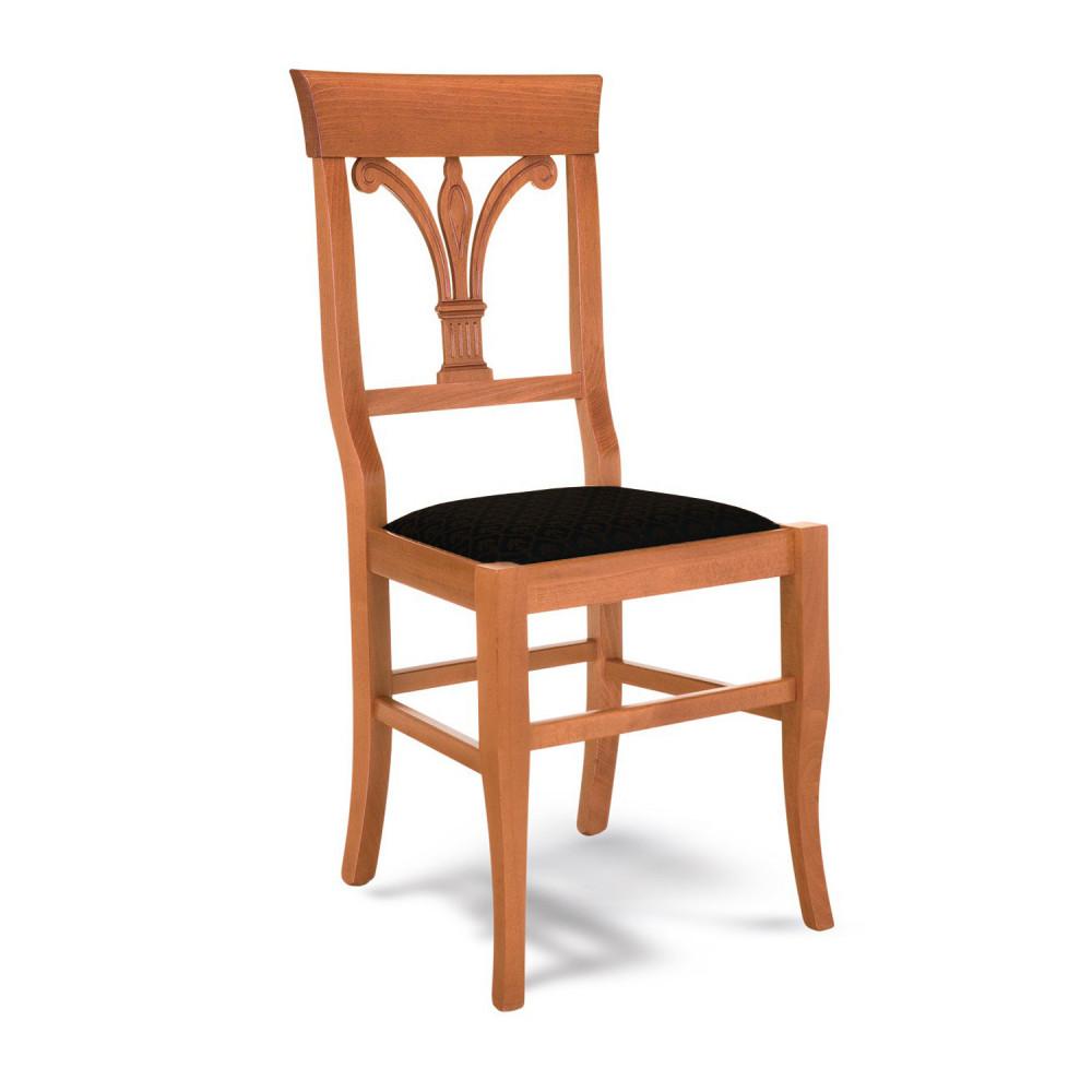 Iii qual è la posizione corretta per sedersi su una sedia da ufficio? Sedia In Legno Classica Per Cucina Giglio Giglio Arredasi