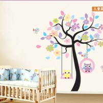 Removable-Wallpaper-Large-Owls-Tree-Wall-Stickers-for-Kids-Rooms-Decal-Home-Decor-Mural-Vinyl-Living.jpg_250x250