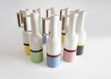 Elena Salmistraro designer caraffe brocche experimental sequence color carafes design milano 03