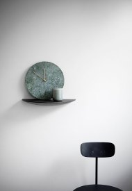 Marble Wall Clock di Norm.Architect