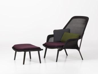 Slow Chair & Ottoman Design: Ronan & Erwan Bouroullec, 2007