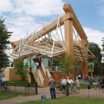 2008 Serpentine Gallery Pavilion _ Frank Gehry / credit: David Hawgood / CC BY-SA 2.0