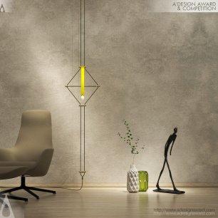 Mozaik Lampada modulabile di Davide Oppizzi