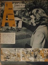 Copertina della rivista A n°1, 1946