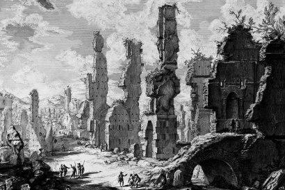 G.B. Piranesi, Vedute di Roma, 1748
