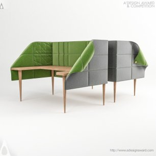 Asel Office Cubical by Elif Gunes and Bulent Unal
