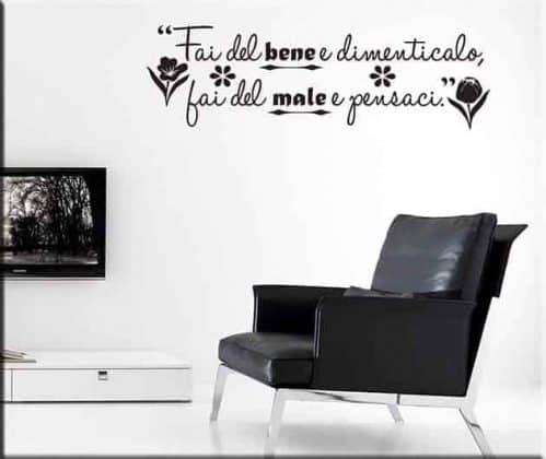 Adesivi murali frasi aforismi, una frase,una citazione,un aforisma non solo per arredare ma anche da regalare con personalizzazione. Adesivi Murali 6 000 Stickers Murali Da 3 Decorazioni Adesive