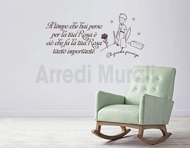 Di michela cauli su pinterest. Wall Stickers Frase Piccolo Principe Decorazioni Murali