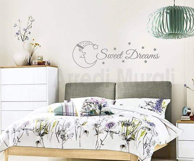 Pertanto, la decorazione delle pareti della camera da letto, che determina l'atmosfera,. Decori Per Camera Da Letto Decorazioni Pareti Sweet Dreams Arredi Murali