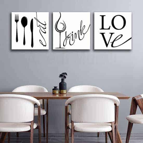 Stampe, quadri e poster bellissimi per cambiare volto alle tue stanze. Quadri Per Arredare Le Pareti Della Cucina 3 Tele Moderne