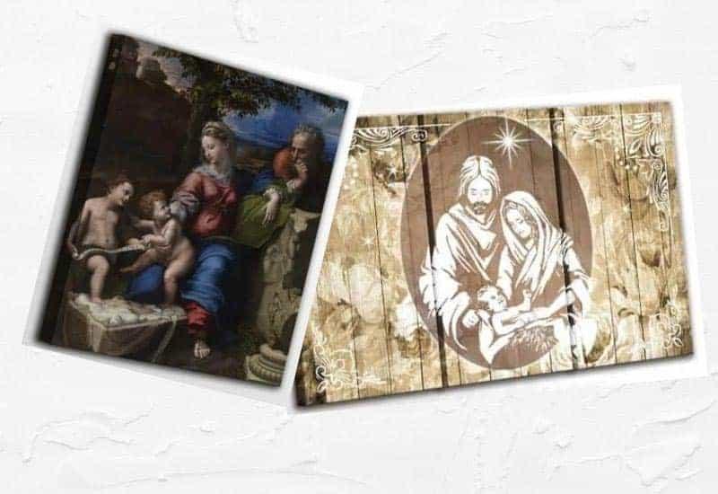 Mazzola luce capezzale classico sacra famiglia quadro per camera da letto stampa su tela 70x40 made in italy. Quadri Sacra Famiglia Come Adattarli All Arredamento Simbologia E Significato