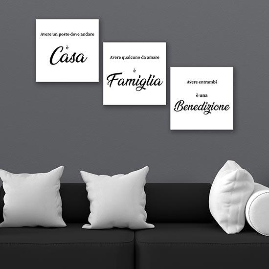 Stampe, quadri e poster bellissimi per cambiare volto alle tue stanze. Quadri Con Scritte Su Tela Stampe Moderne Per Arredare Le Pareti