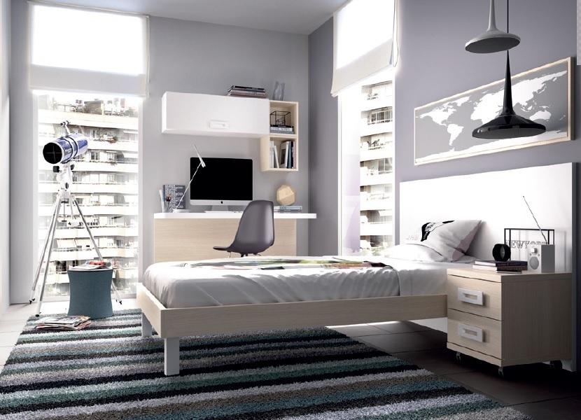Classiche lampade da comodino e da scrivania, ma anche applique a muro, lampade da terra. Camera Moderna Giovane K 507 Mobili Per Ragazzi Letto