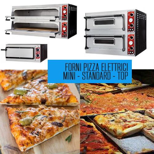 Forni pizza elettrici mini - standard - top
