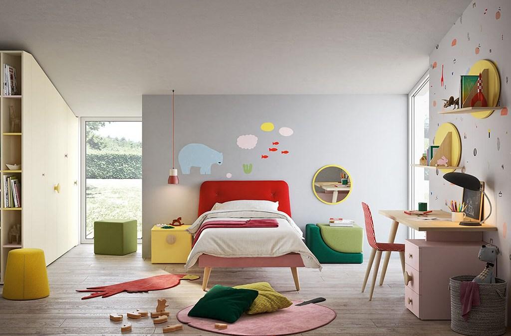 Nidi: dormire, giocare e studiare. Le camere di design per bambini e ragazzi.