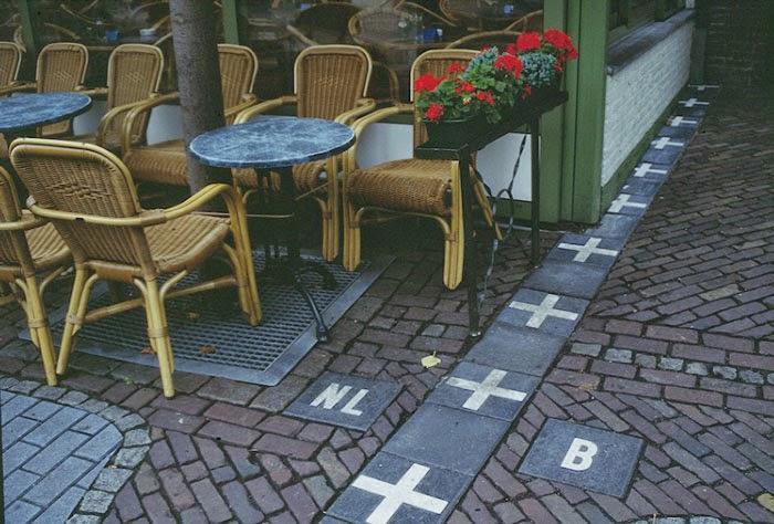 10 Imagens curiosas que mostram fronteiras entre países!