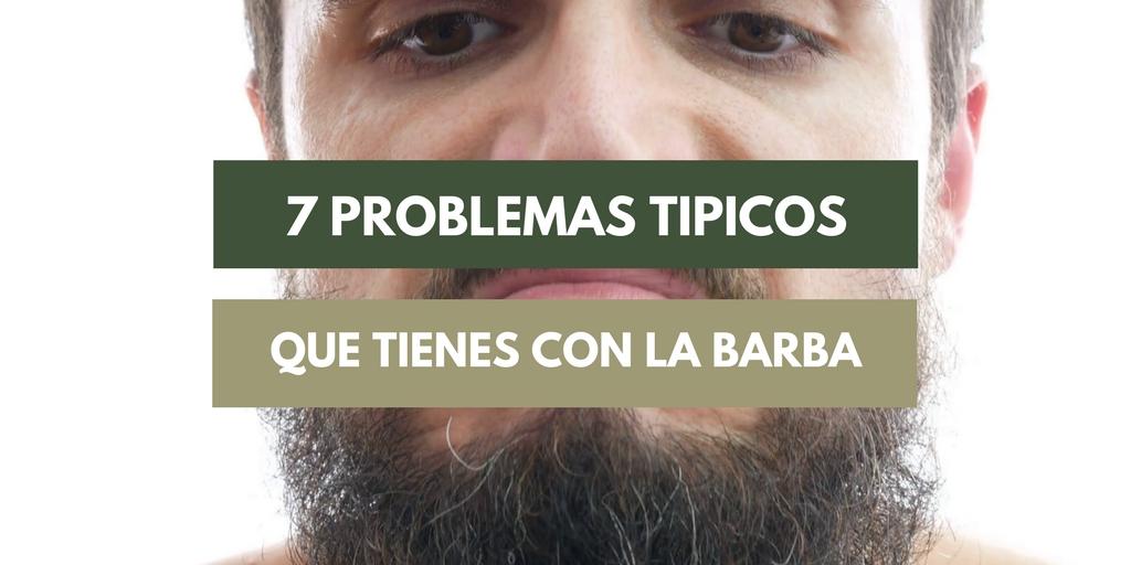 problemas con la barba