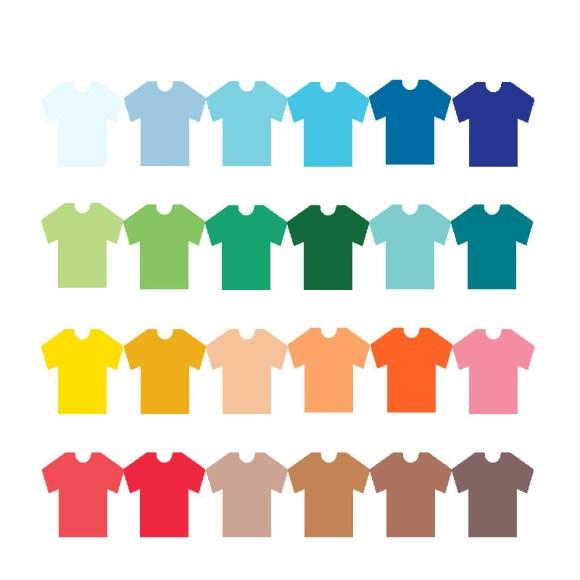 elegir colores para la ropa masculina