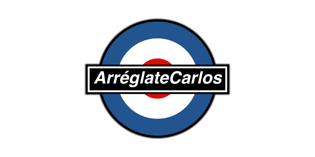 arreglate carlos logo twitter