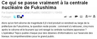 Rue89 Fukushima
