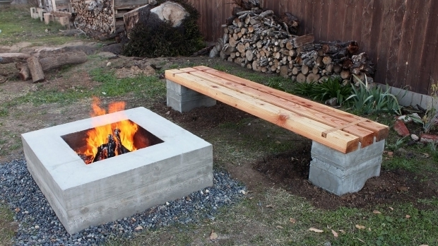 How To Build A Fire Pit With Cinder Blocks - Fire Pit Ideas on Simple Cinder Block Fireplace id=79664