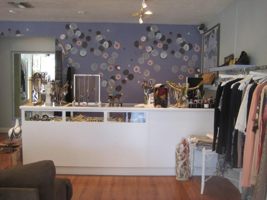 The adorable Westerley boutique in Coronal Del Mar.