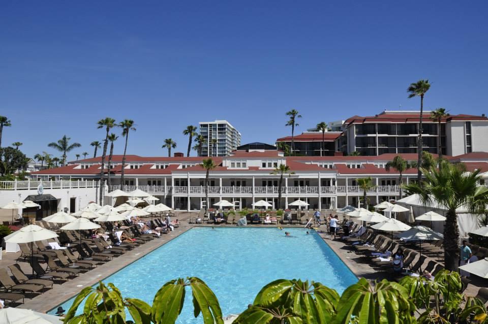 Pool at Hotel Del Coronado