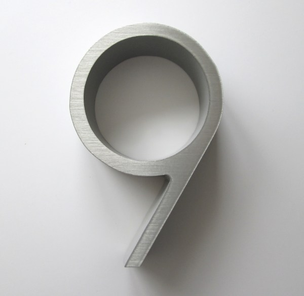 150mm high house numbers