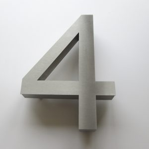 200mm high house numbers