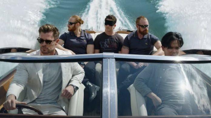 Com Chris Hemsworth e Jurnee Smollett, o longa Escape From SpiderHead ganha  primeiras cenas | Arroba Nerd