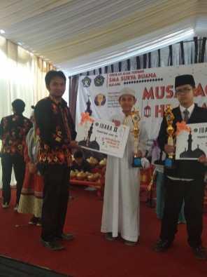 SMP Ar Rohmah Juara Tahfidz Se Malang Raya