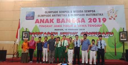 Tim SMP Ar Rohmah Memborong Medali Matematika Tingkat Jawa Timur Jawa Tengah 3