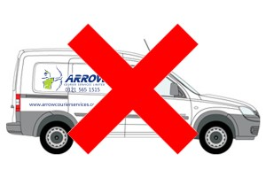 "img src=""Arrow-couriers-small-van-red-cross.jpg"" alt=""Arrow Courier Services driver only service"""